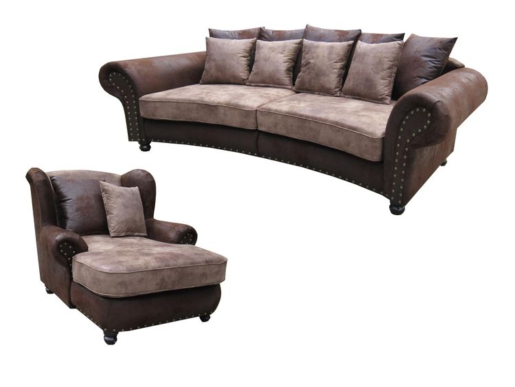 Big sofa hawana sessel im kolonialstil sofa kolonia for Sofa und sessel