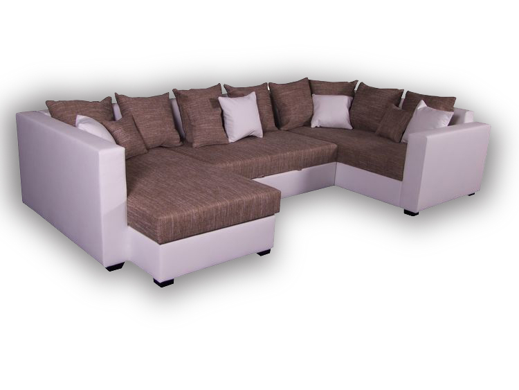 Couch u form schlaffunktion  Sofa Kolonialstil & Sofa Landhausstil kaufen | OS-LivingComfort.com